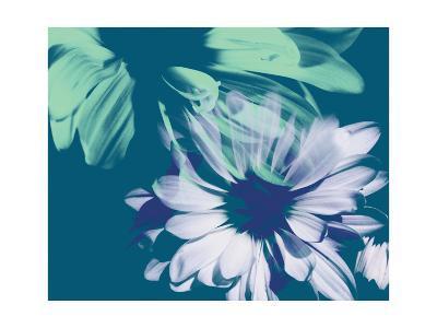 Teal Bloom I-A. Project-Art Print