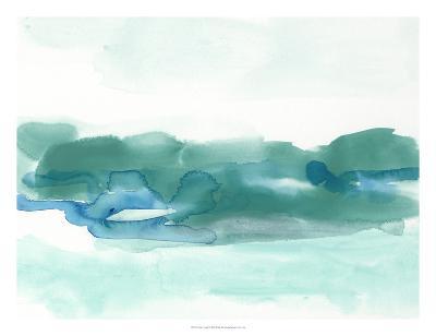 Teal Coast I-June Erica Vess-Giclee Print