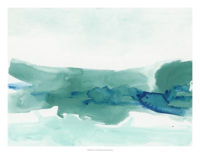 Teal Coast II-June Erica Vess-Giclee Print