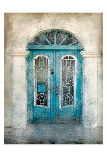 Teal Doorway-Kimberly Allen-Art Print