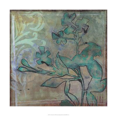 Teal Extraction II-Jennifer Goldberger-Limited Edition