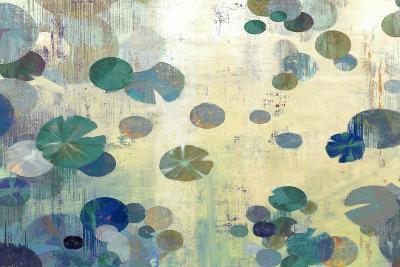 Teal Lily-Anna Polanski-Art Print