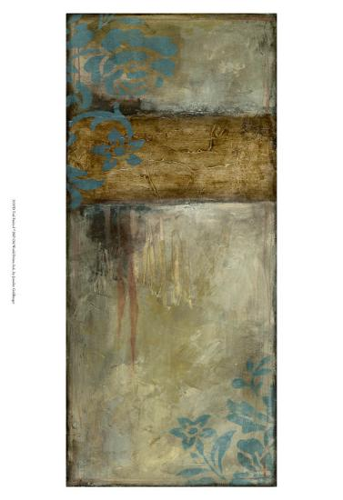 Teal Patina I-Jennifer Goldberger-Art Print