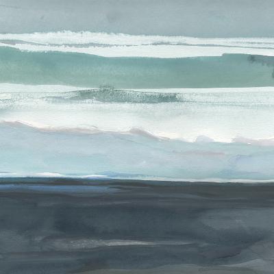 Teal Sea I-Rob Delamater-Art Print