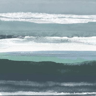 Teal Sea II-Rob Delamater-Art Print