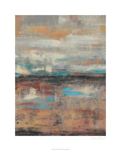 Teal Sunset I-Jennifer Goldberger-Limited Edition