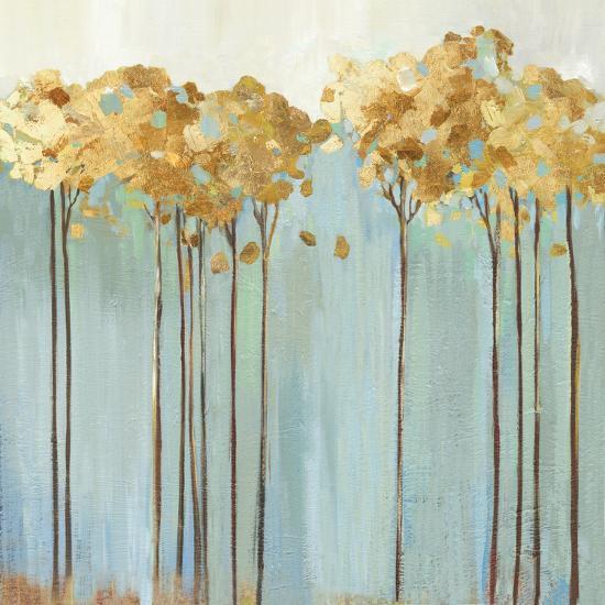 Teal Trees II-Allison Pearce-Art Print
