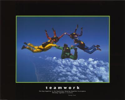 Teamwork--Art Print