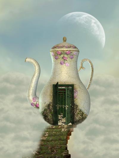 Teapot House-justdd-Art Print
