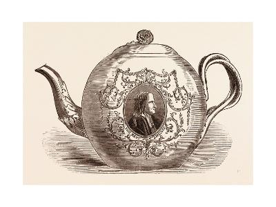 Teapot Presented to the Rev. John Wesley; Born June 17--Giclee Print