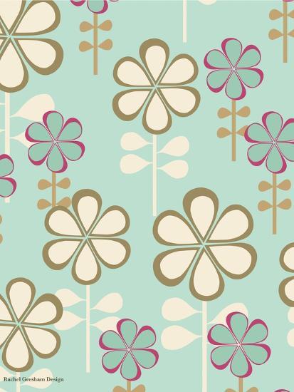 Teardrop Floral-Rachel Gresham-Giclee Print