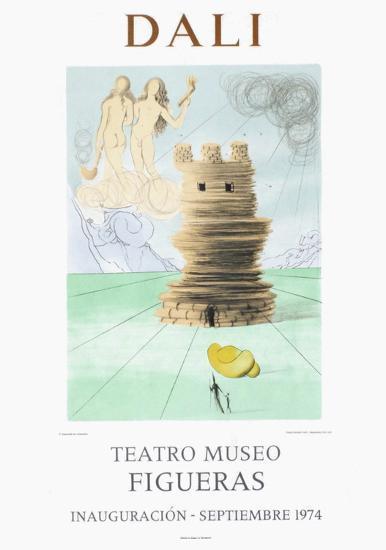 Teatro Museo Figueras 5-Salvador Dal?-Collectable Print