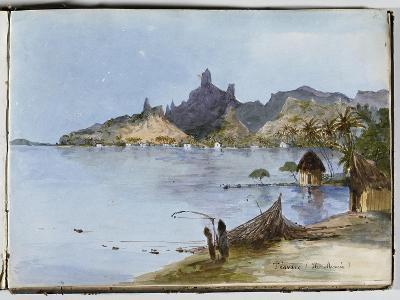 Teavaro (île Moorea)--Giclee Print