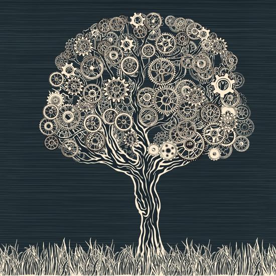 Tech Tree.-RYGER-Art Print