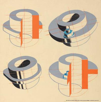 Technical Drawing, 1930s--Art Print