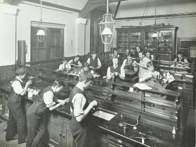 Technical Instruction, Haselrigge Road School, Clapham, London, 1914--Photographic Print