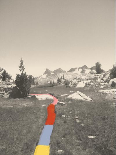 Technicolor Trail-Danielle Kroll-Giclee Print