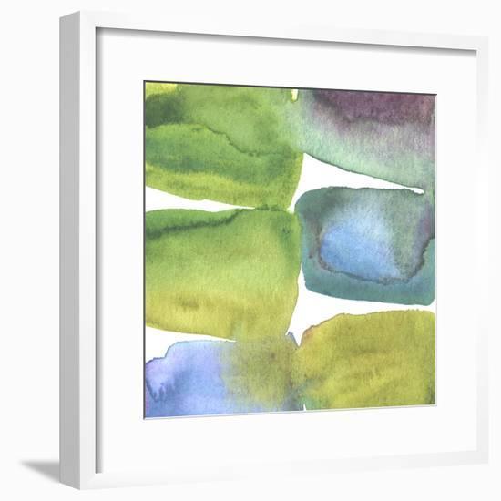 Tectonic II-Chariklia Zarris-Framed Giclee Print