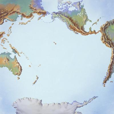 Tectonics Movements--Giclee Print