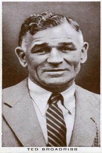 Ted Broadribb, British Boxer and Manager, 1938