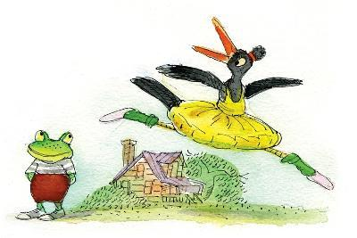 Ted, Ed and Caroll are Great Friends - Turtle-Valeri Gorbachev-Giclee Print