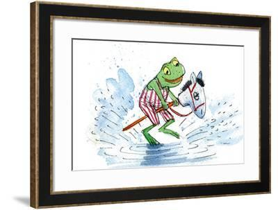 Ted, Ed and Caroll: Happily Ever After - Turtle-Valeri Gorbachev-Framed Giclee Print