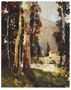 Italian Villa by Ted Goerschner