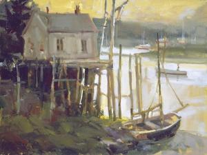 Port Clyded Maine by Ted Goerschner