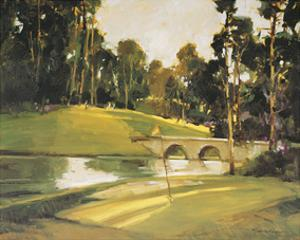 The 9th Tee by Ted Goerschner