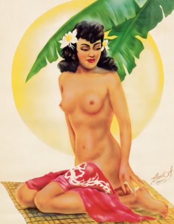 Hawaiian Nude Leilani by Ted Mundorff