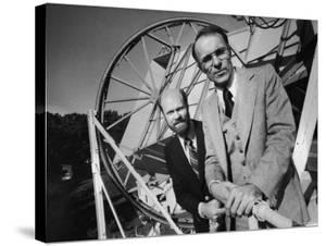 1978 Nobel Prize in Physics Winning Bell Telephone Labs Scientists Robert Wilson and Arno Penzias by Ted Thai