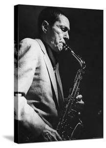 Art Pepper Performing at Fat Tuesday by Ted Thai