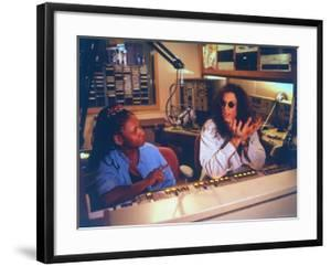 Controversial Radio Disc Jockey and Talk Show Host Howard Stern and Sidekick Robin Quivers by Ted Thai
