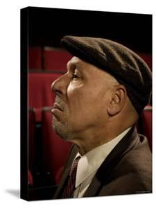 Playwright August Wilson, Photographed at the Yale Repertory Theater in New Haven, Conn by Ted Thai
