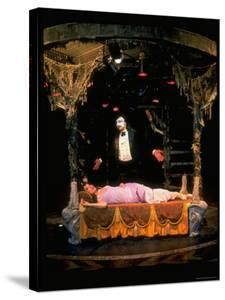 Robert Cuccioli and Glory Crampton in a Scene from The Phantom of the Opera by Ted Thai