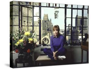 Shirley MacLaine in Her Apartment by Ted Thai