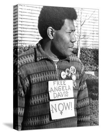 Angela Davis supporter - 1972