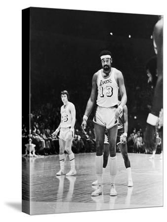 Basketball Star Wilt Chamberlain, Member of the Los Angeles Lakers, 1973