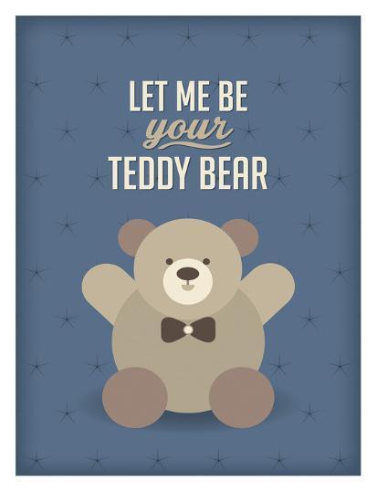 Teddy Bear-Patricia Pino-Art Print