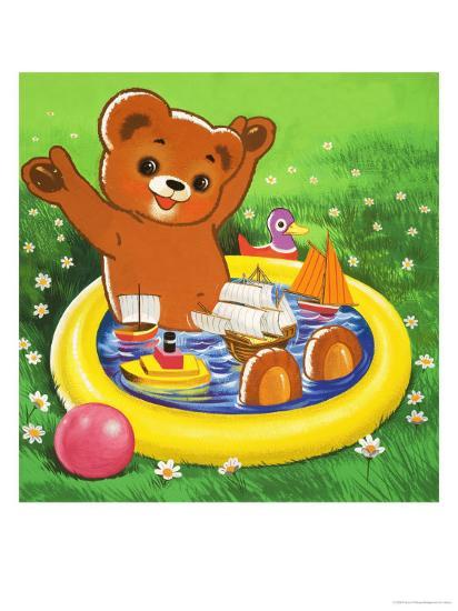 Teddy Bear-Francis Phillipps-Giclee Print