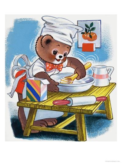 Teddy Bear--Giclee Print