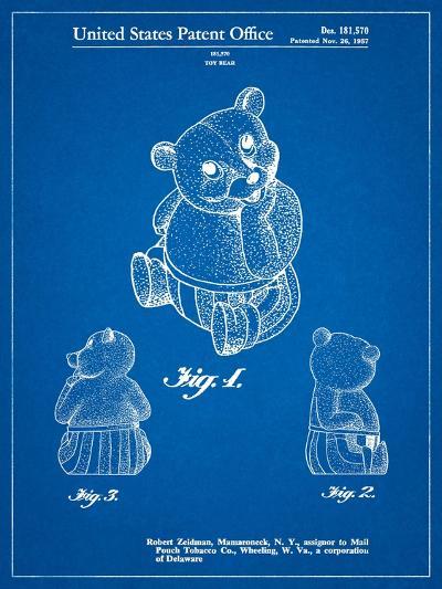 Teddy Bear-Cole Borders-Art Print