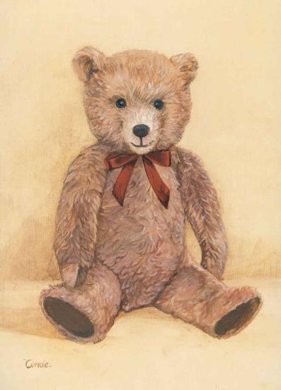 Teddybear--Art Print