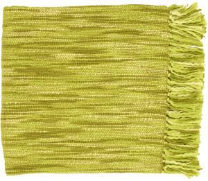 Teegan Throw - Lime/Olive