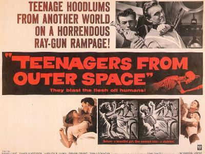 Teenagers From Outer Space, 1959--Art Print