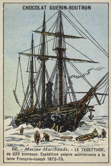 Tegetthof, Ship Used on the Austro-Hungarian Polar Expedition of 1872-1873--Giclee Print