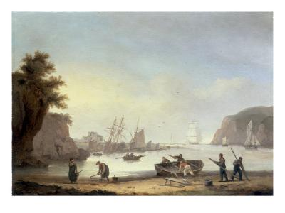 Teignmouth and the Ness, Devon, 1825-Thomas Luny-Giclee Print