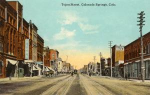 Tejon Street, Colorado Springs, Colorado