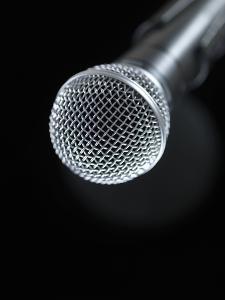 Microphone by Tek Image