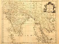 Original Map Of North America-Tektite-Art Print